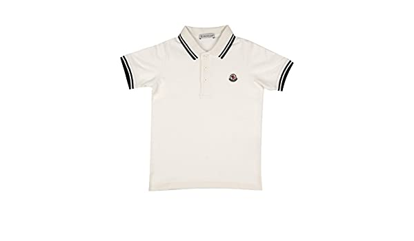 Moncler Junior Polo Bambino Kids Boy Mod. 8306505: Amazon.es: Ropa ...