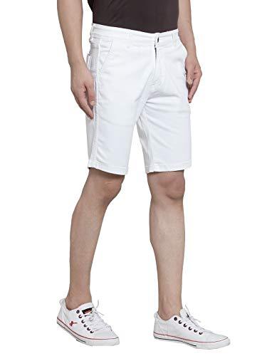 Ben Martin Men's Relaxed Shorts (BM-Shorts-White)