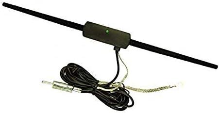 Antenne amplifi/ée int/érieure autoadh/ésive 2 m/ètres pour auto autoradio voiture C16624 Aerzetix