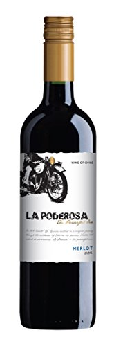 La Poderosa Merlot Red Wine 75 cl