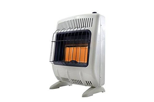 (Mr. Heater Corporation Vent-Free 20,000 BTU Radiant Natural Gas Heater, Multi)