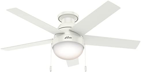 HUNTER 59269 Anslee Indoor Low Profile Ceiling Fan