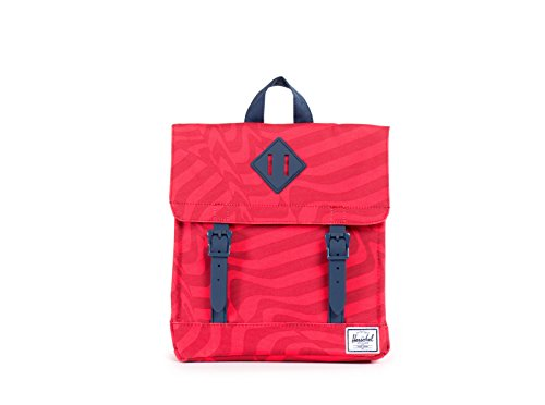Herschel Supply Co. Survey Kid Backpack, Red Shift/Navy, ...