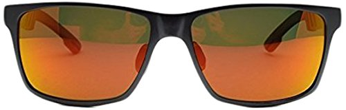 OutLaw Eyewear Wayfarer Mg, Polarized, GunMetal/Orange - Sunglasses Outlaw