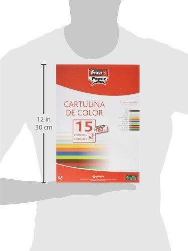 Fixo 11110670/ colore: bianco A4 /Confezione di 15/cartoncini