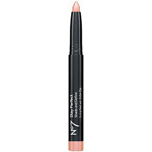 Boots No7 Stay Perfect Shade & Define, Pink Pearl 0.04 oz (1.4 g) by Boots ()
