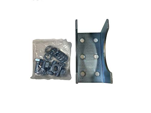 Round Post Adapter Brackets for Ghost Controls Gate Opener Systems to Adapt to Round Steel Posts (1. AX3R) by GHOST CONTROLS (Image #1)