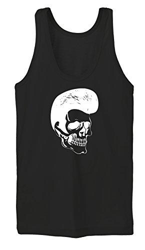 Certified Freak Rockabilly Skull TankTop Girls Black