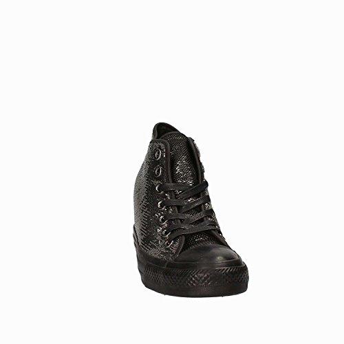 Compensées Taylor Mid Converse Hautes Femmes Chuck avec Black Noires Paillettes LUX Chaussures pour Et 559048C 0wXqf7rw