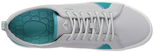 Sperry Top-sider Heren Flex Deck Ltt Canvas Sneaker Grijs