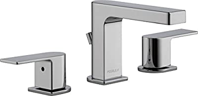 Peerless Xander 2-Handle Widespread Bathroom Faucet with Pop-Up Drain Assembly