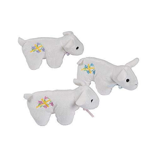 (Fun Express Plush Lambs of God for Easter - 12 Stuffed Lamb Toys)