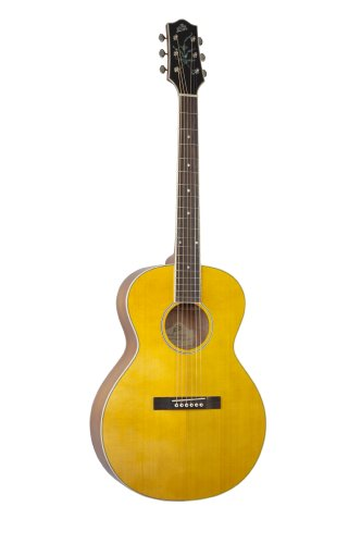 The Loar LH-200-NA Flat Top Acoustic Guitar, Natural