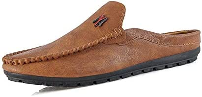 ローファーメンズ スリッポン スリッパ ドライビングシューズ 夏 ビジネスシューズ カジュアル 紳士靴 耐久性 モカシン 防滑 軽量 スムースシューズ 若者 フラットシューズ かかとなし 包頭 メンズシューズ