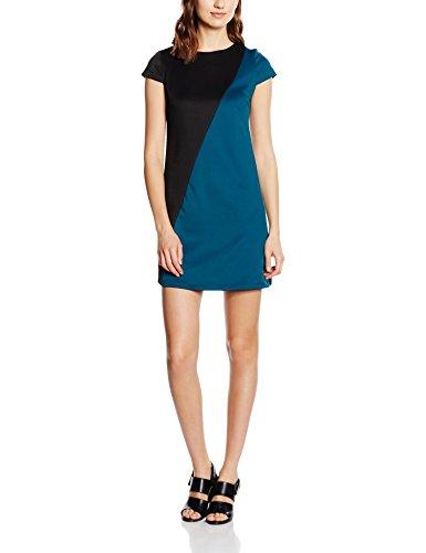 Asimmetrico Sophistiquees Bicolore Les Multicolore Damen Ottanio Mehrfarbig Abito nero Kleid UHwIqTIf