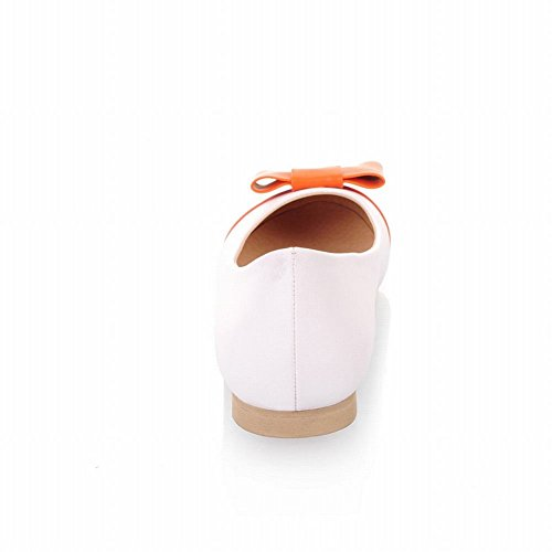 Sweet Shoes Carol Flat Orange Assorted Colors Cute Bows Shoes Women's Ht6xB6