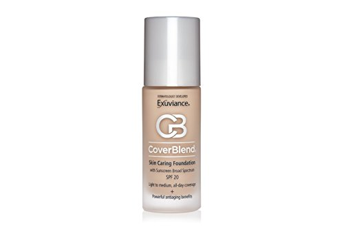 (Exuviance CoverBlend Skin Caring Foundation SPF 20, Warm Beige, 1 oz)