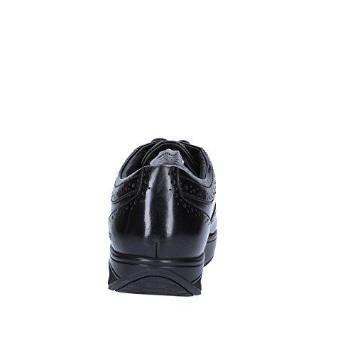 MBT Chaussures élégantes Homme Cuir Brillant (42 EU, Noir)