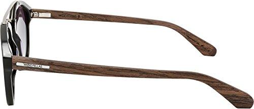de Talla única Wood Fellas sol Gafas hombre para nogal qZT0EwZU