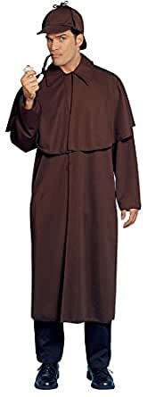 Costume Culture Men's Sherlock Costume, Brown, Standard
