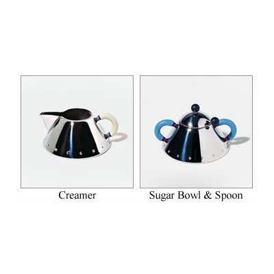 Alessi Michael Graves Creamer and Sugar Set