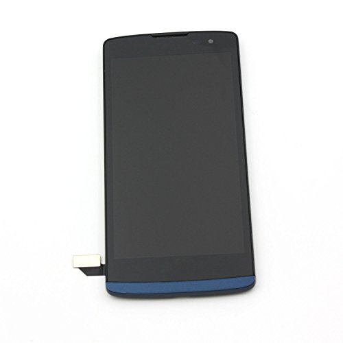Touch Screen Digitizer LCD Replacement Display Assembly for LG Leon LTE MetroPCS Risio H343 MS345 C50 h340 h340n h340f h340ar h345 / Tribute 2 LS665 (Blue)