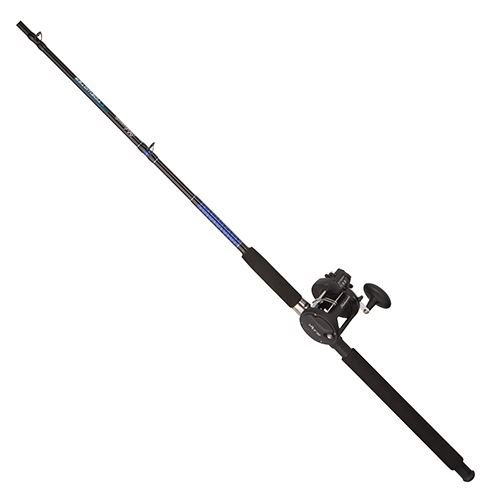 Shakespeare Medium Power Tidewater Trolling Combo (2 Piece), 8'6″