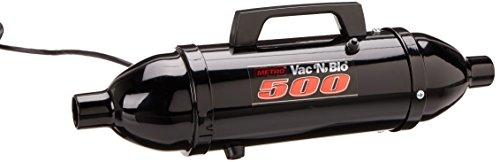 MetroVac Vac 'N' Blo 500 Canister Vacuum Black VM12500T
