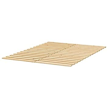 Ikea Sultan Lade Slatted Bed Base For Queen Size Beds Amazon Co Uk