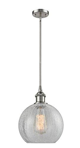 Crackle Glass Globe Pendant Light - 6