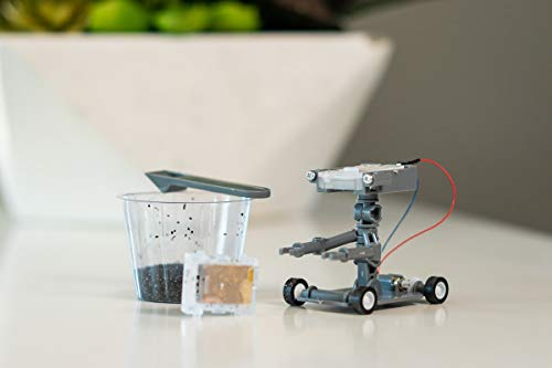 4m Green Science Salt Water Powered Robot Kit Green