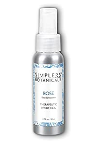 Simplers Botanicals - Therapeutic Hydrosol Spray Rose Geranium