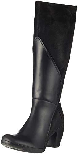 Black Women's London 000 Black High Fly Boots Black Hafi316fly vUH4nWq