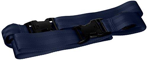 Colecciones BYP Arnés de Seguridad de Doble Cinturón para Niño y Adulto, color Azul Marino