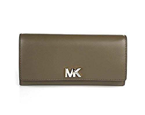 MICHAEL Michael Kors Mott Large Leather Wallet, Color (Michael Kors Olive)