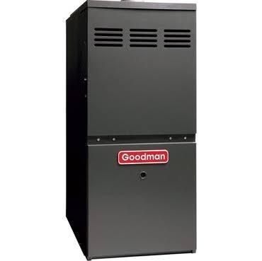 Goodman GMS80603AN Gas Furnace, Single-Stage Burner/Multi-Speed Blower, Upflow/Horizontal - 60,000 BTU