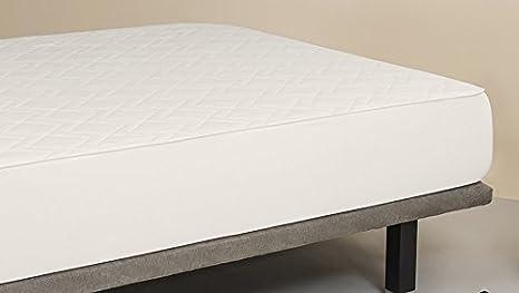 Cubrecolchon-Protector de colchón MAX REVERSIBLE cama 150x200. ALGODÓN 100%. Producto natural 100%.: Amazon.es: Hogar