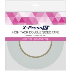 er X-Press It High Tack Double Sided Tissue Tape-1/4