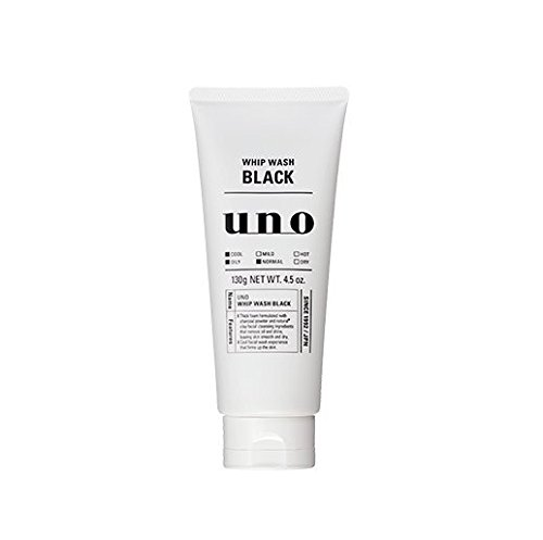 SHISEIDO UNO WHIP WASH BLACK 130g(Face Wash)