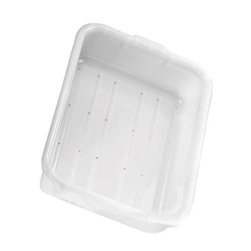 Tablecraft-Milky-White-5-Deep-Freezer-Drain-Box-with-Holes