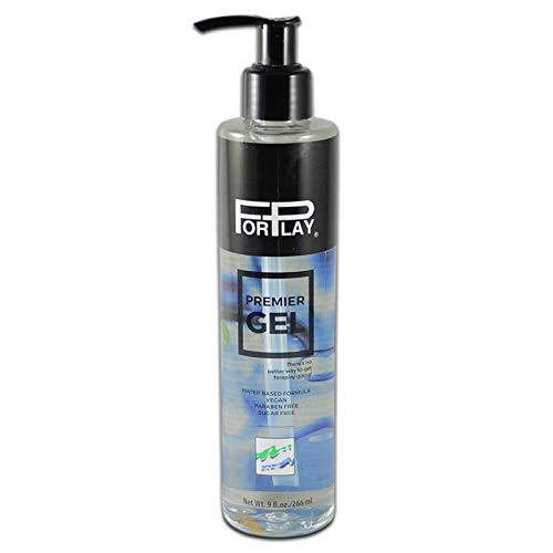 - NEW! ForPlay Premier Gel Plus Hypoallergenic Paraben and Sugar Free Premium Water-based Lubricant 9oz