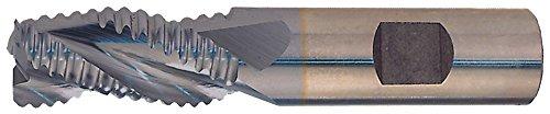 - Putnam Style 266 97213 M42 Cobalt Multi-Flute Center Cutting Fine Profile Roughing End Mill, 3/4