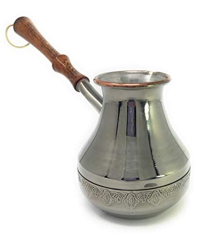 CEZVE 7oz / 200ml TURKISH ARMENIAN ARABIC GREEK COPPER for sale  Delivered anywhere in USA