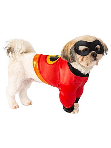 Rubie's Disney: Incredibles 2 Pet Costume Shirt and Mask, Small]()