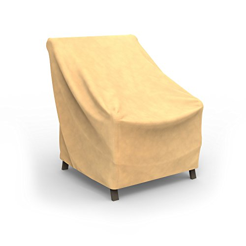 Cheap  Budge All-Seasons Patio Chair Cover, Extra Small (Tan)