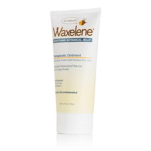 Waxelene Organic Soothing Botanical Jelly, Petroleum Free Ointment, 5 Ounces, Pack of 6 by Waxelene (Image #1)