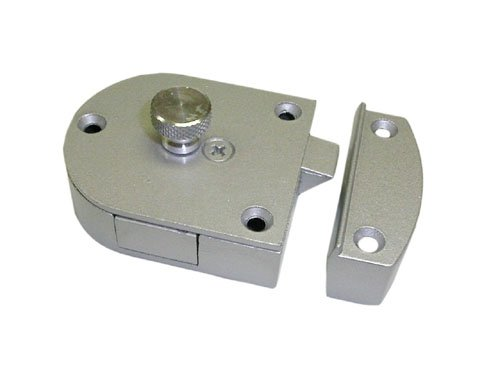 Knape Vogt Kv0989 Alu Secret Gate Latch - Aluminum