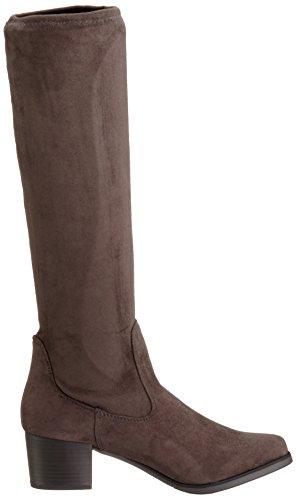 Caprice 25507 - Botas altas para mujer Gris (DARK GREY 205)