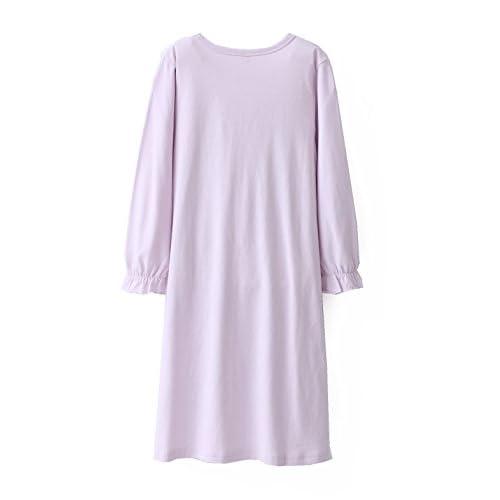 Zegoo Princess Plus Size Night Gowns Sleeping Dress 100 Cotton Long