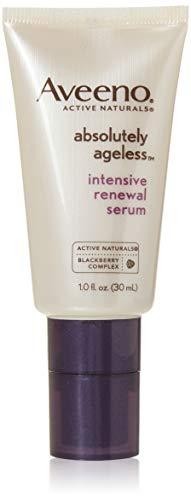 Aveeno Absolutely Ageless Intensive Anti-Aging Renewal Serum, 1 fl. oz (Pack of 2)